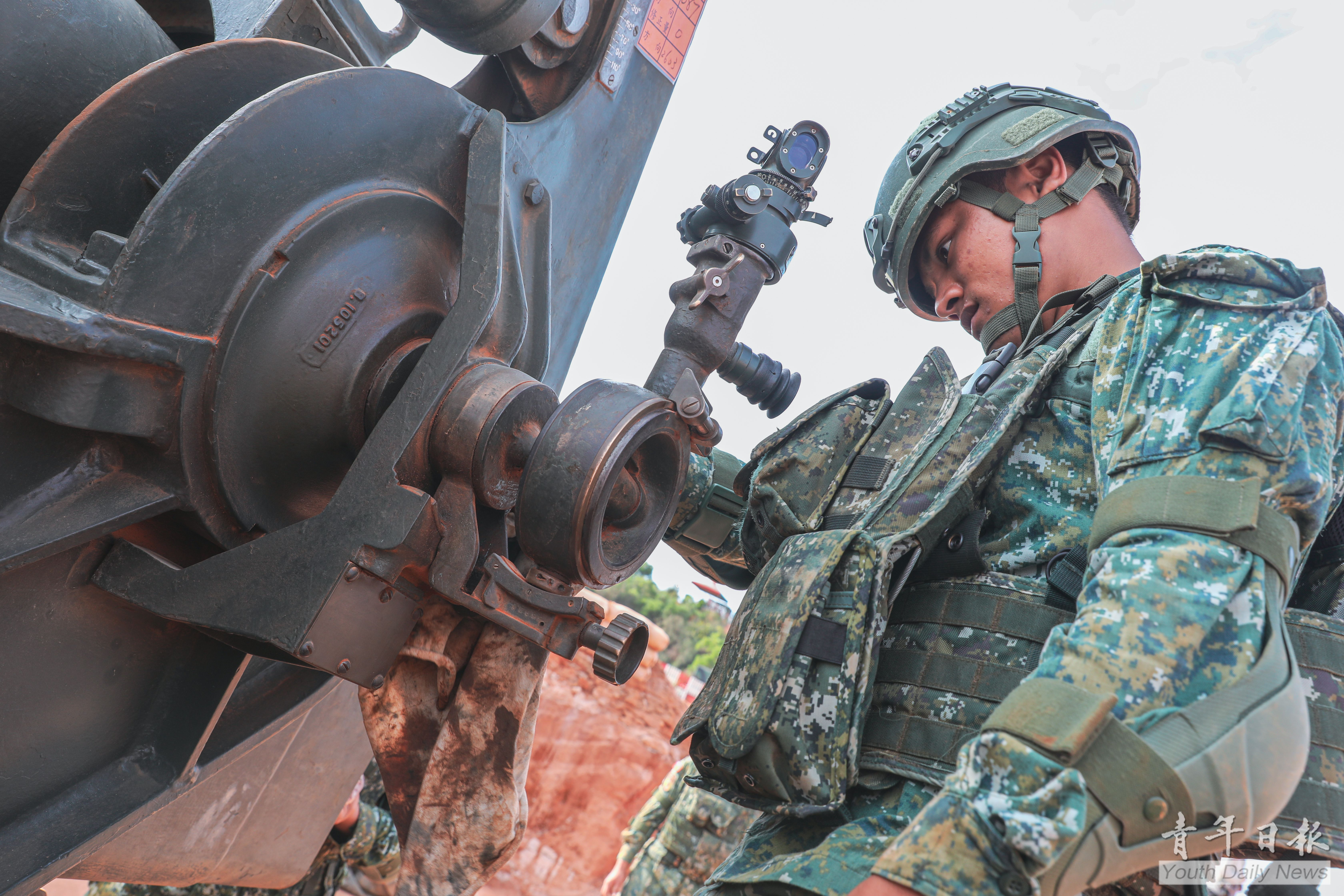 Kinmen Defense Command Showed Resolve for Fight
