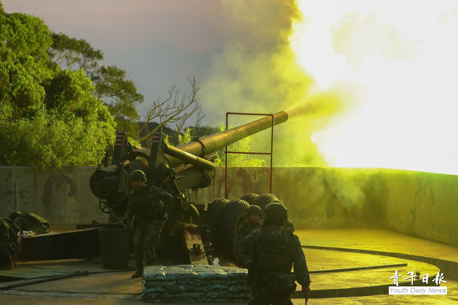 Matsu Counter-landing Drills Demonstrated Resolves to Defend Country
