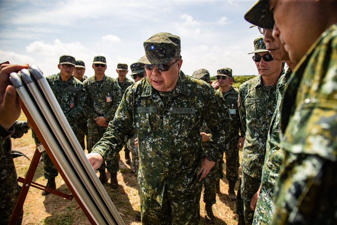 GEN Hsu, VCGS/ Executive, inspected northern Taiwan military units