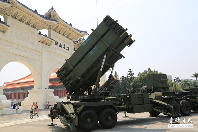 MND said the U.S. had approved its Patriot Advanced Capability-3 missiles request from Taiwan, which will help increase defense capacity.