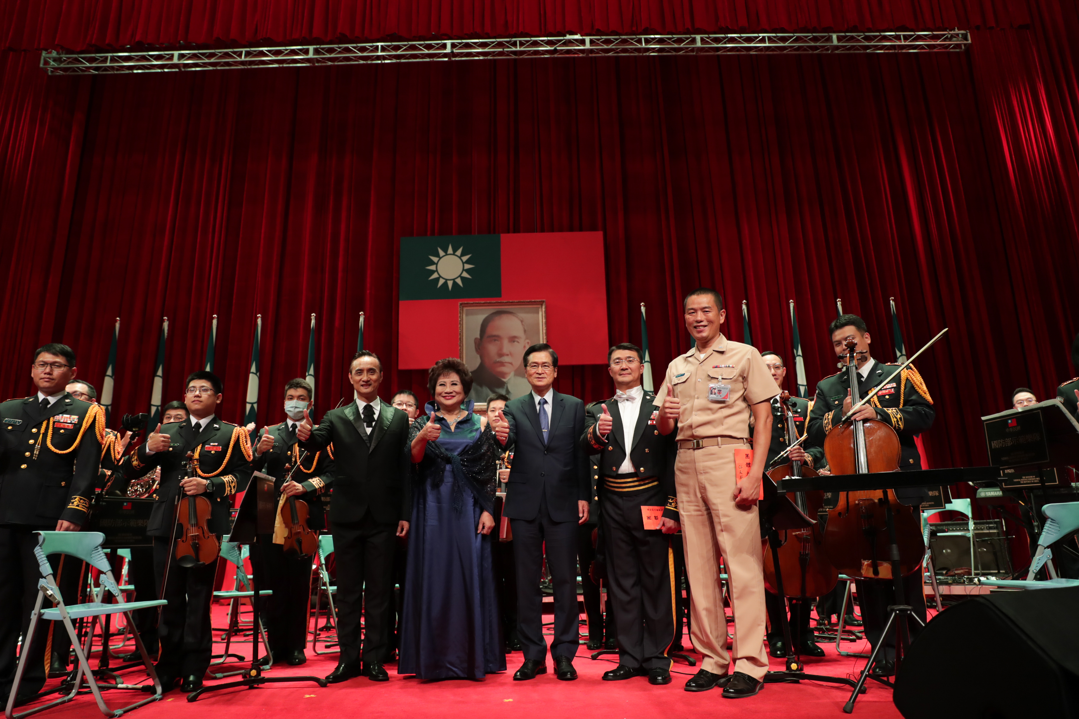 Armed Forces Day Concert Entertains the Military and Public