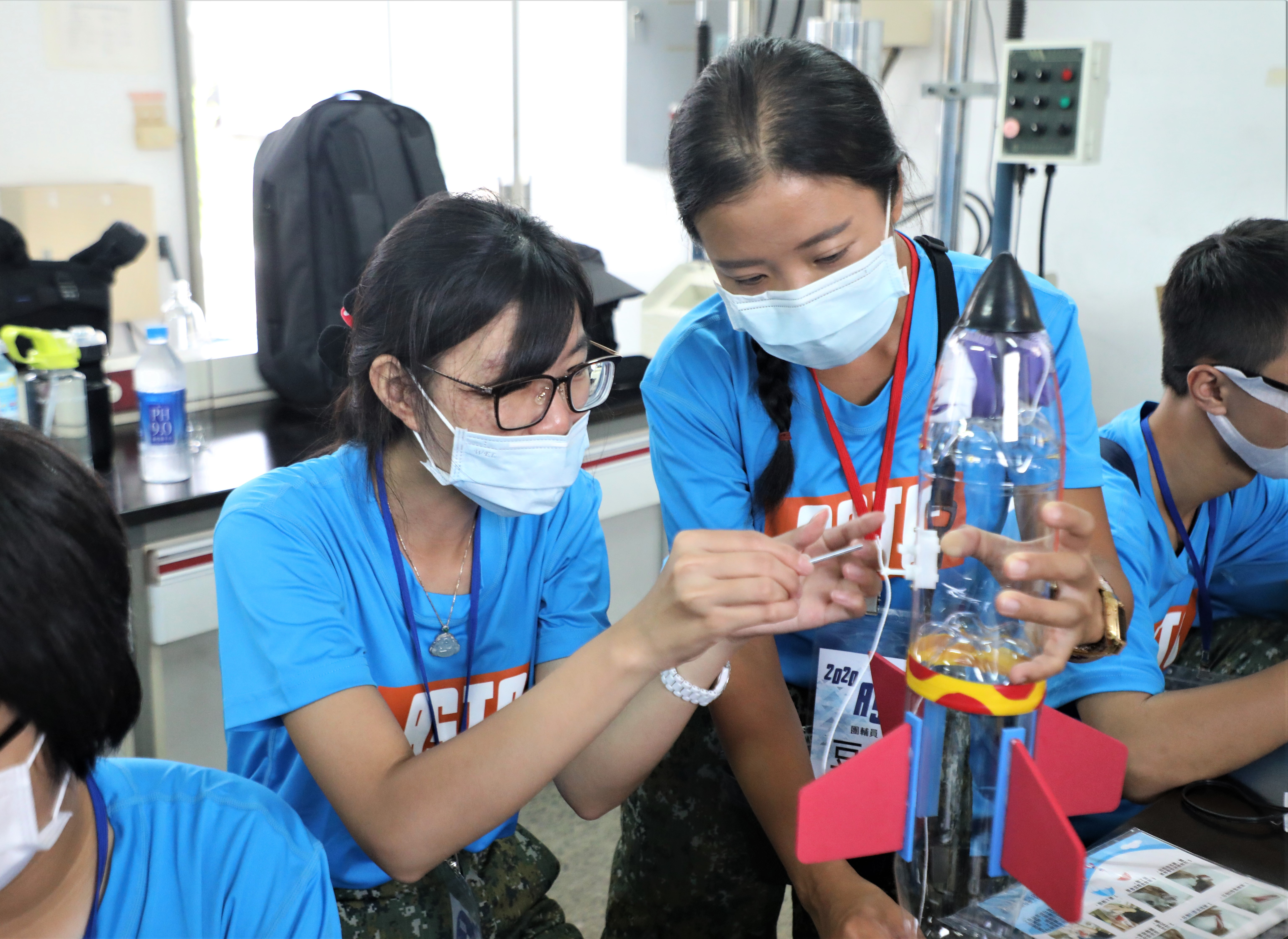 Aviation Science Experience Camp Deepened Participants' All-out Defense Understanding