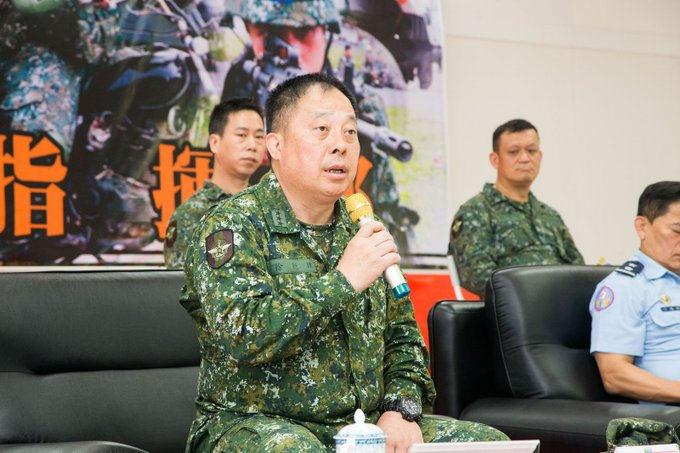 GEN Hsu, VCGS/Executive, inspected the exercise preparation of 2nd TO and had high expectation for risk management and training safety.