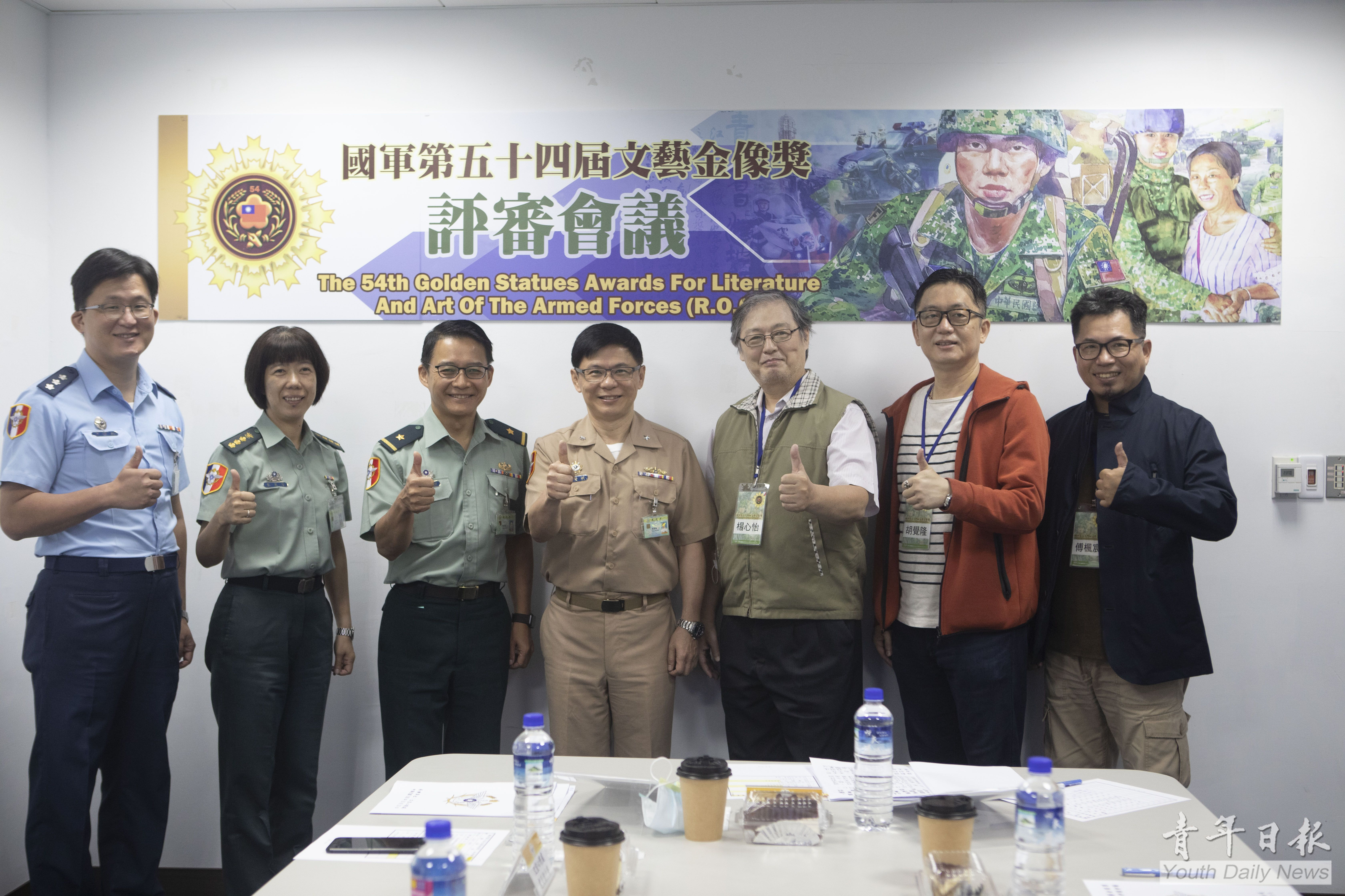 Golden Statues Awards for Literature and Art of The Armed Forces Has Its Preliminary Judging on Comics, Chinese Painting and Photographs