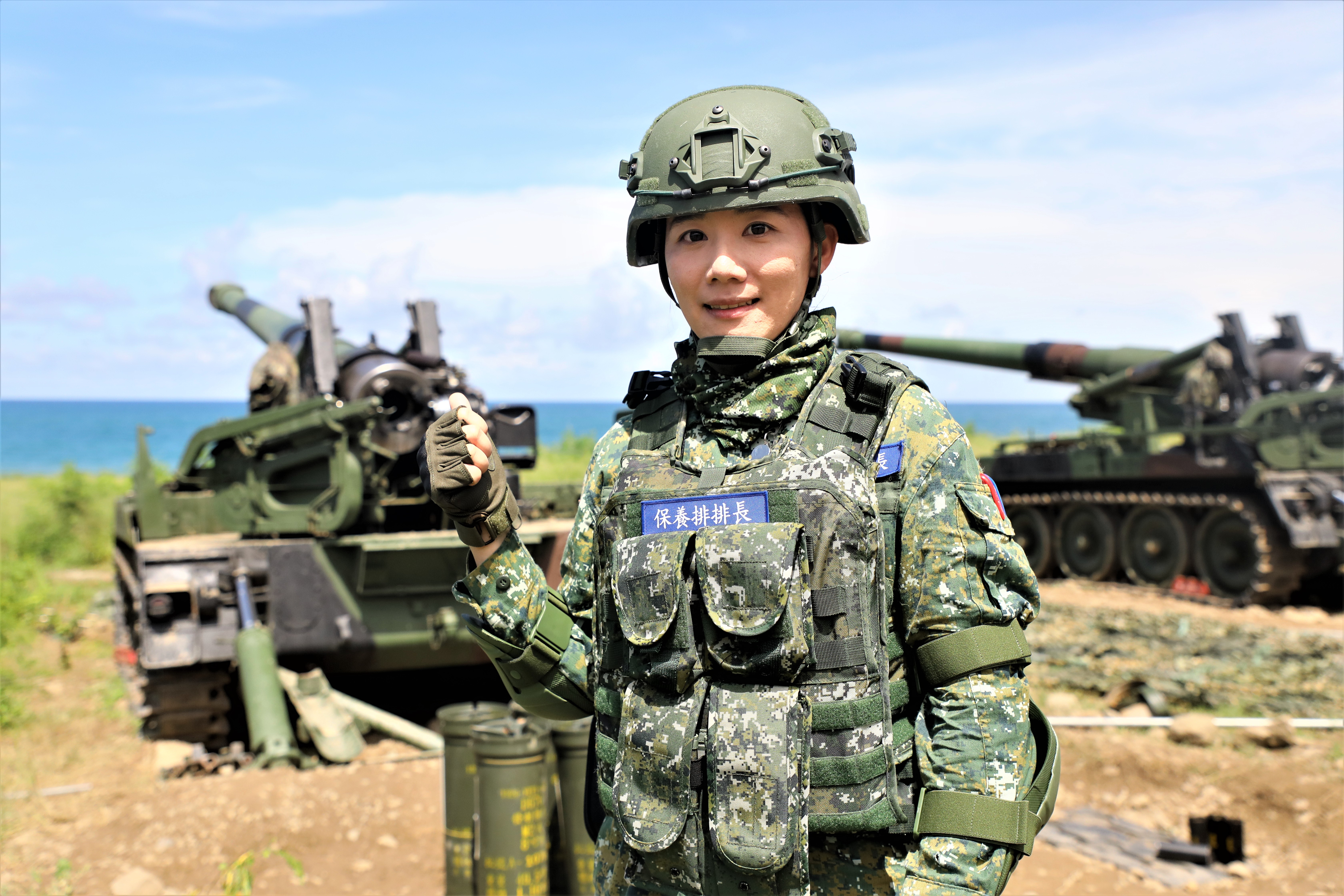 From Enlisted to Officer, LT Lin never gives up challenging herself
