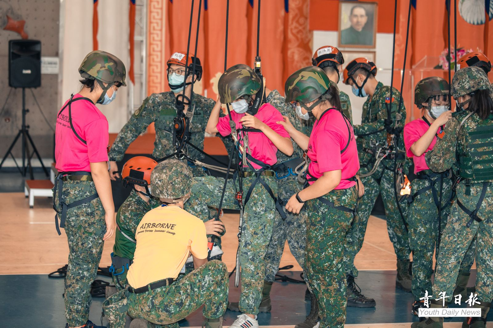 Trainees of Special Ops Camp experienced combat skills