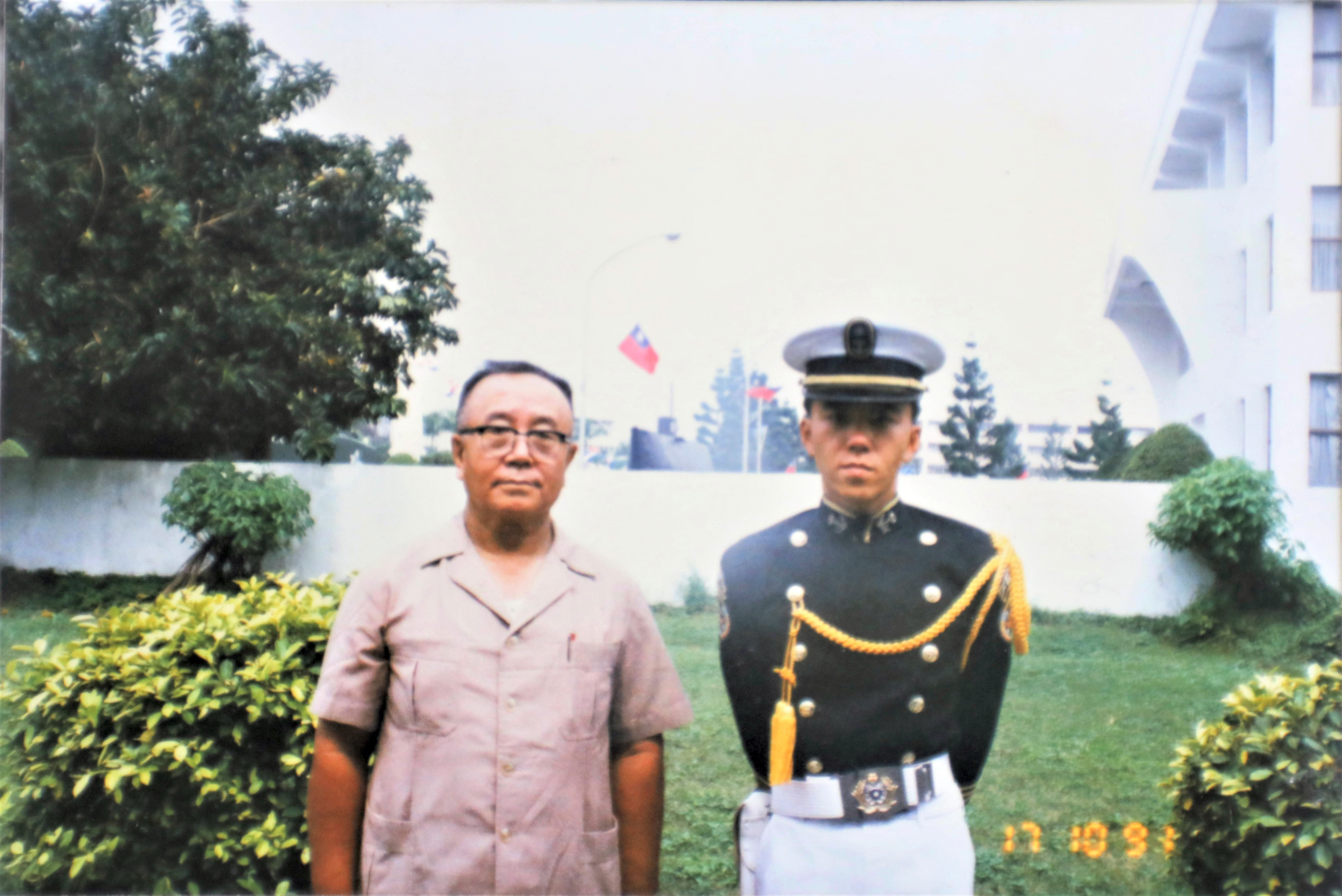 Naval Captain Brought Father's Legacy to Hometown School