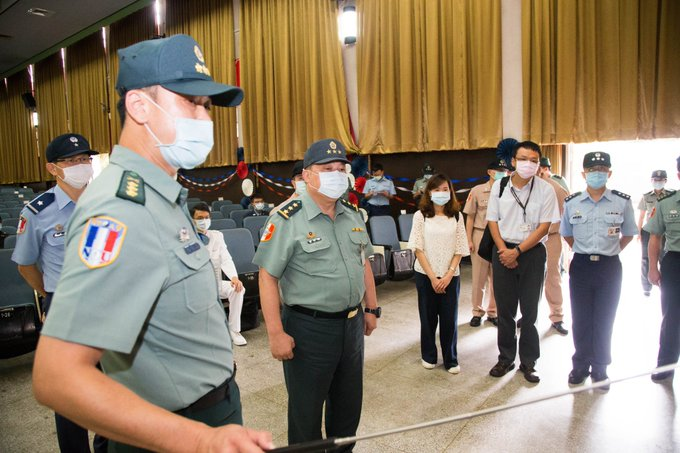 GEN Hsu, VCGS/Executive, inspected military academies in northern Taiwan on 6/3