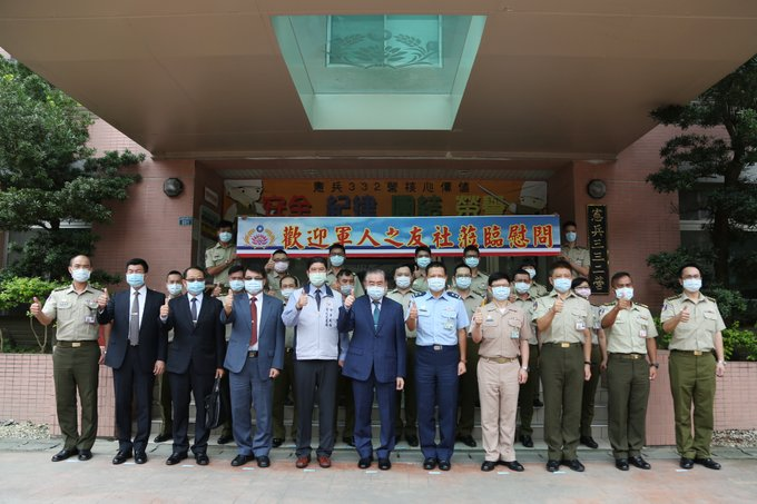 On 6/2, Chairman Lee of FAFA and delegation launched a Dragon Boat Festival visit to northern garrisons