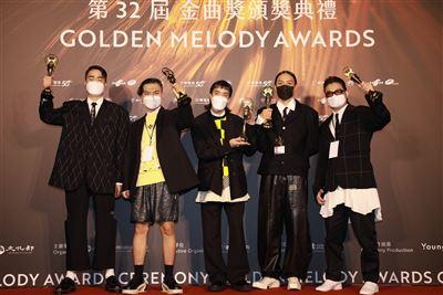 【第32屆金曲獎】最佳新人「?te壞特」最佳樂團「落日飛車」 展現華語音樂蓬勃創意力