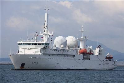 【武備巡禮】反恐利器  法國海軍洛姆號  專為電子情報偵蒐打造