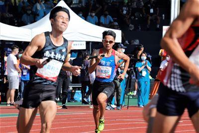 全大運陸官男子田徑400公尺接力獲殿軍