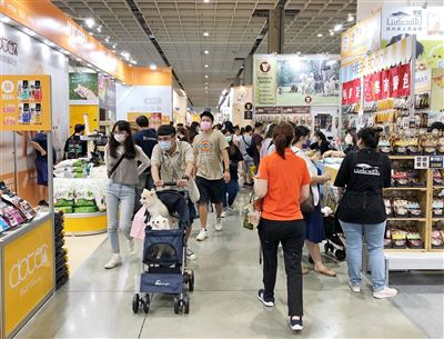 臺北寵物用品展登場 眾多優惠搶攻毛孩商機