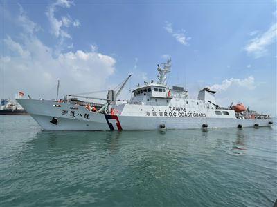 巡護八號接棒啟航  展開海巡署第二航次公海漁業巡護