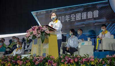 【110年全運會開幕】蔡總統:延續東奧寶貴經驗