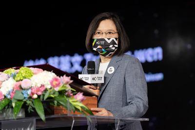 蔡總統:持續整合資源 打造臺灣成為新創之島