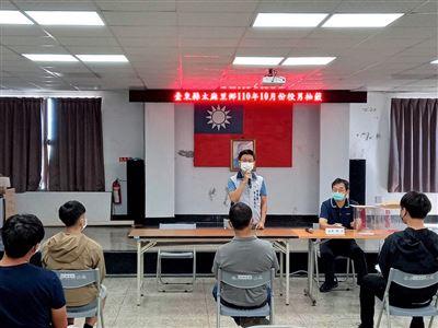 臺東役男抽籤  軍友站宣導服務工作