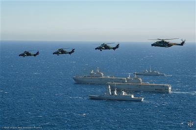 法跨軍種演習驗證兩棲投射力