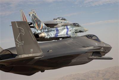 史上規模最大  藍旗空戰演習8國展實力