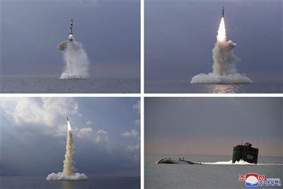 北韓試射潛射飛彈聯國商討對策