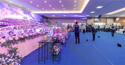 蔡總統出席城中城火災罹難者公祭 表達深切哀悼與慰問