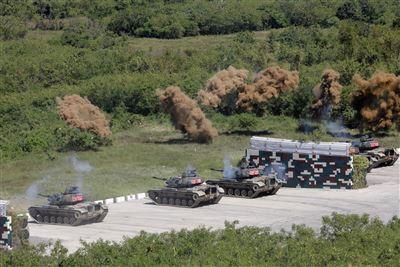 【三軍聯合作戰訓練測考110-7號操演】擬真實訓陸空火力協同殲敵