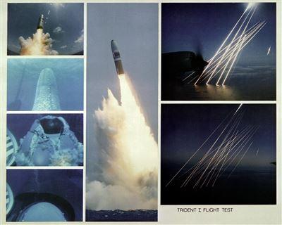 【2月28日軍史上的今天】美試射三叉戟一型飛彈