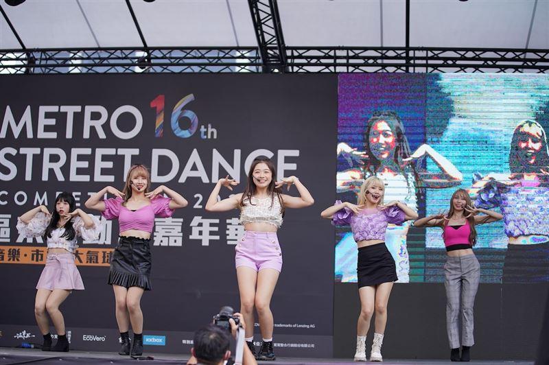 捷運盃街舞大賽 L.C.G.勵齊女孩展現青春無限1