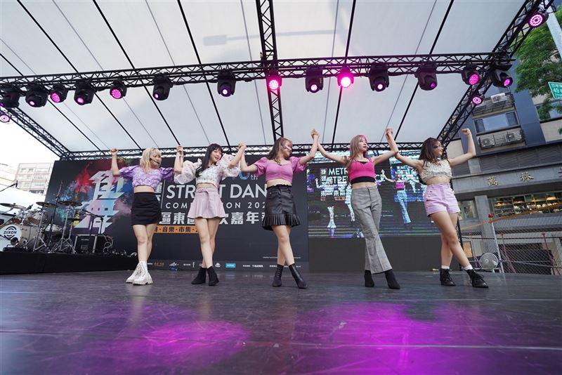 捷運盃街舞大賽 L.C.G.勵齊女孩展現青春無限2