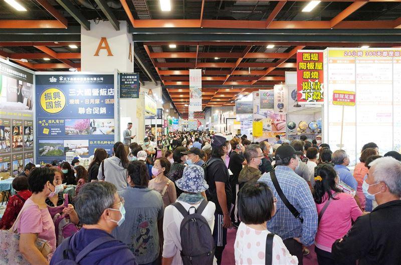 臺北旅展超殺行程搶客 住宿最低3折、星級餐券最低4.6折1