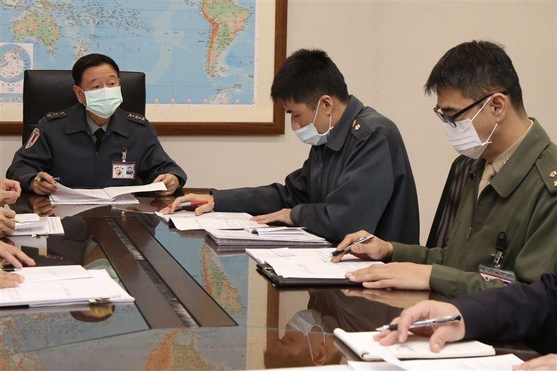 王信龍要求落實營區安全防護2
