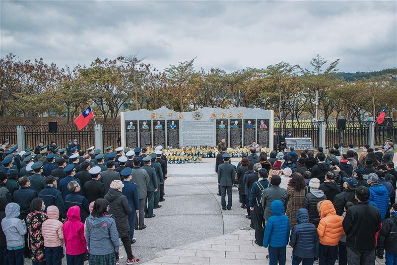 國防部舉辦0102追思紀念 緬懷將士為國奉獻1