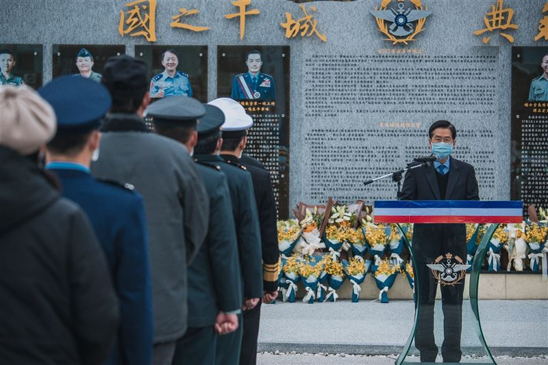 國防部舉辦0102追思紀念 緬懷將士為國奉獻2