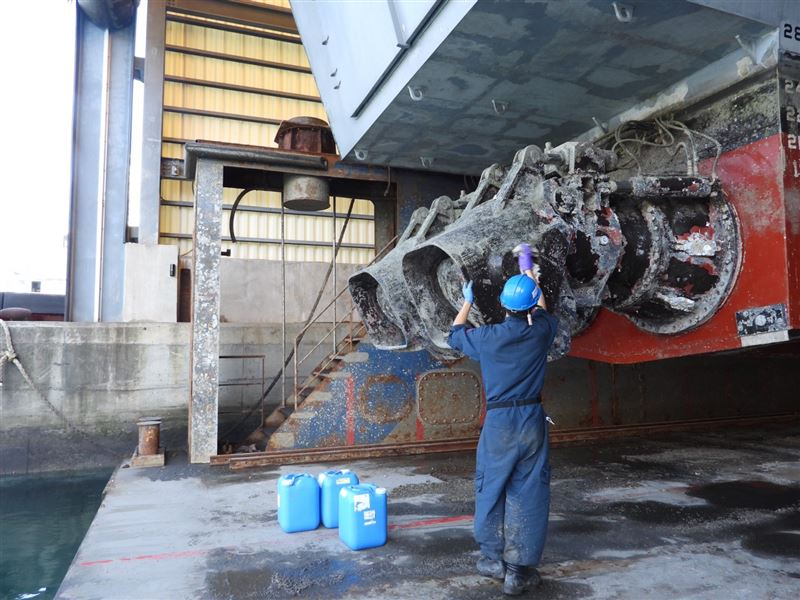沱江軍艦入塢 維持作戰能量1