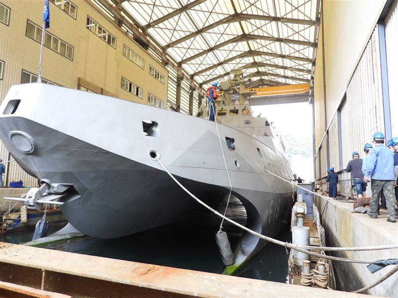 沱江軍艦入塢 維持作戰能量3