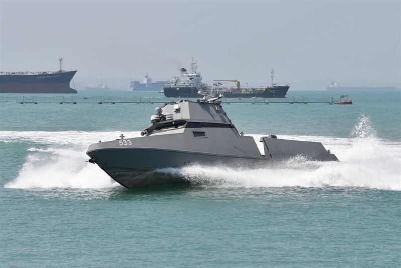 強化海事安全 新加坡測試AI輔助無人船1