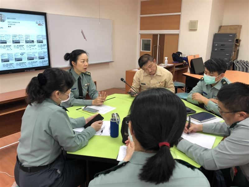 高市教育局校安室輔導會議 推展全民國防教育2