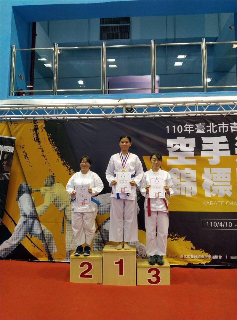 國防大學顏綵瑩、王妤森校外參賽奪冠1