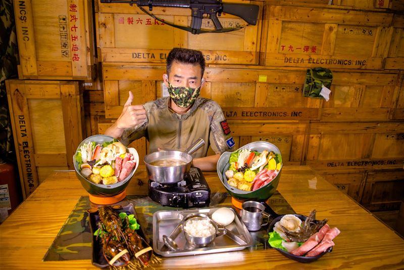 【軍事好好玩】一七二營本部連軍事主題餐廳  重溫當兵回憶3