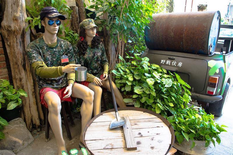 【軍事好好玩】一七二營本部連軍事主題餐廳  重溫當兵回憶7