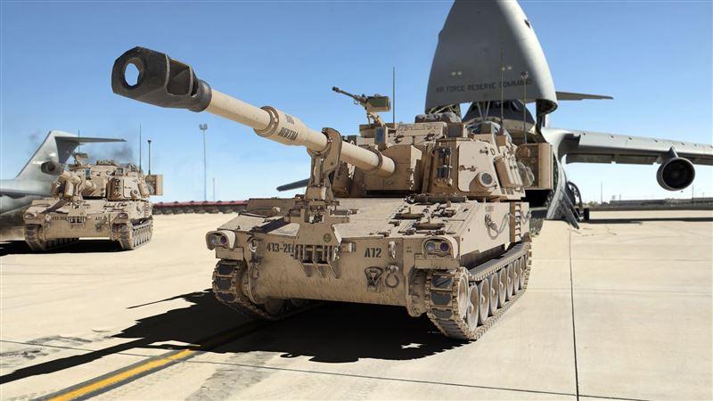 【武備巡禮】M109A6帕拉丁自走砲快速打擊性能優異1
