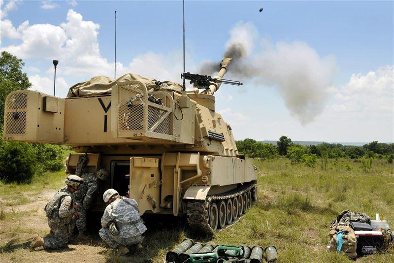 【武備巡禮】M109A6帕拉丁自走砲快速打擊性能優異2