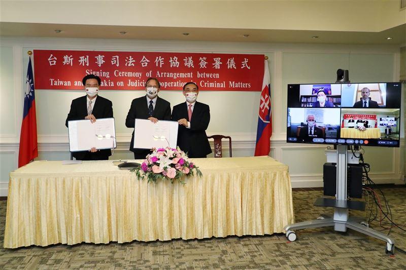 臺斯刑事司法合作協議簽署 強化共同打擊犯罪機制2