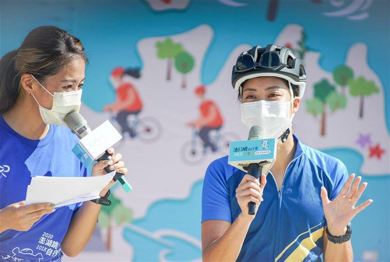 澎湖單車追風成年禮今日登場 120名畢業生及在校生參加2