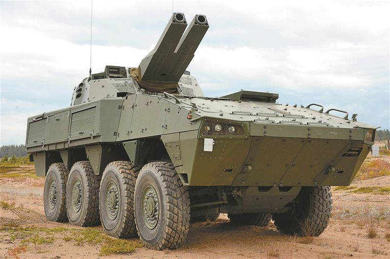 【武備巡禮】火力強大「打了就跑」 芬蘭NEMO/AMOS迫砲系統3