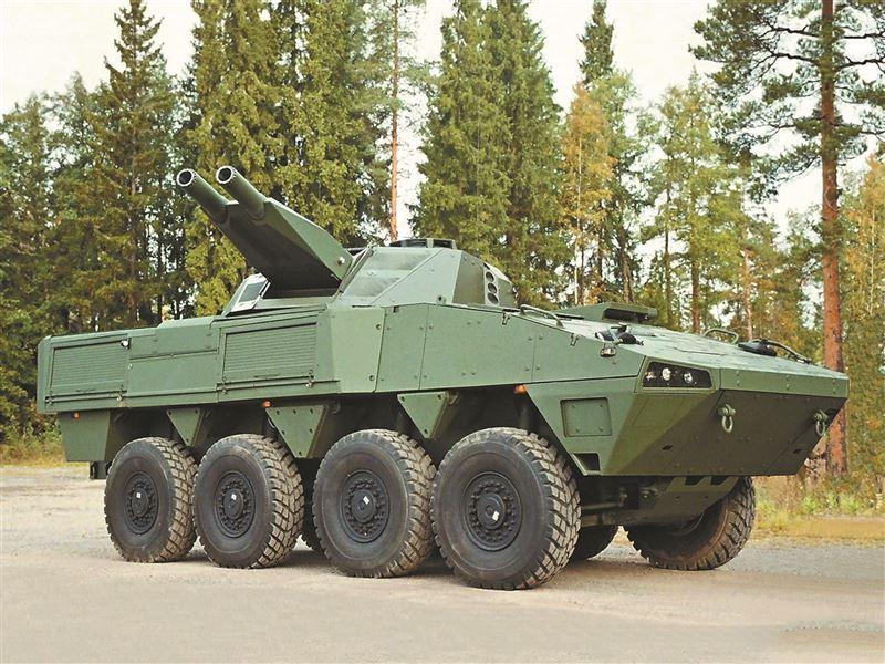 【武備巡禮】火力強大「打了就跑」 芬蘭NEMO/AMOS迫砲系統4